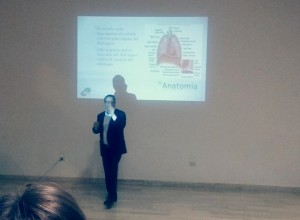 Pablo Mugüerza en jornada de traducción médica